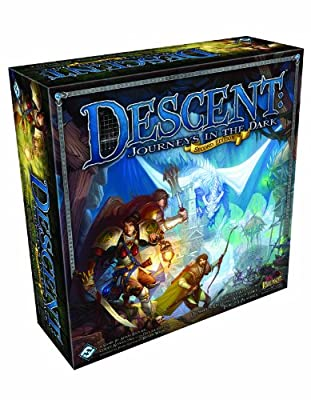Descent Journeys In The Dark Second Edition Board Game by Fantasy Flight Games