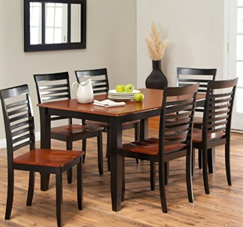 Small Kitchen Table Sets, Dining Table Set For 6, Dining Tables For Small Spaces, Solid Hardwood Construction