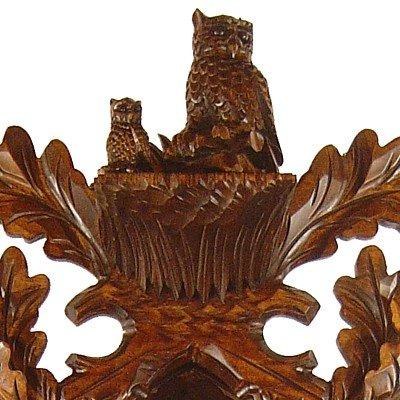 Cuckoo Clock Owl with Child, Nest 2.5035.01.P