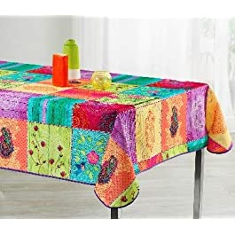 TableCloth Provence Nappe Anti Taches 100% Polyester Ref 94757 André Format Rectangle, Dimension 240×150