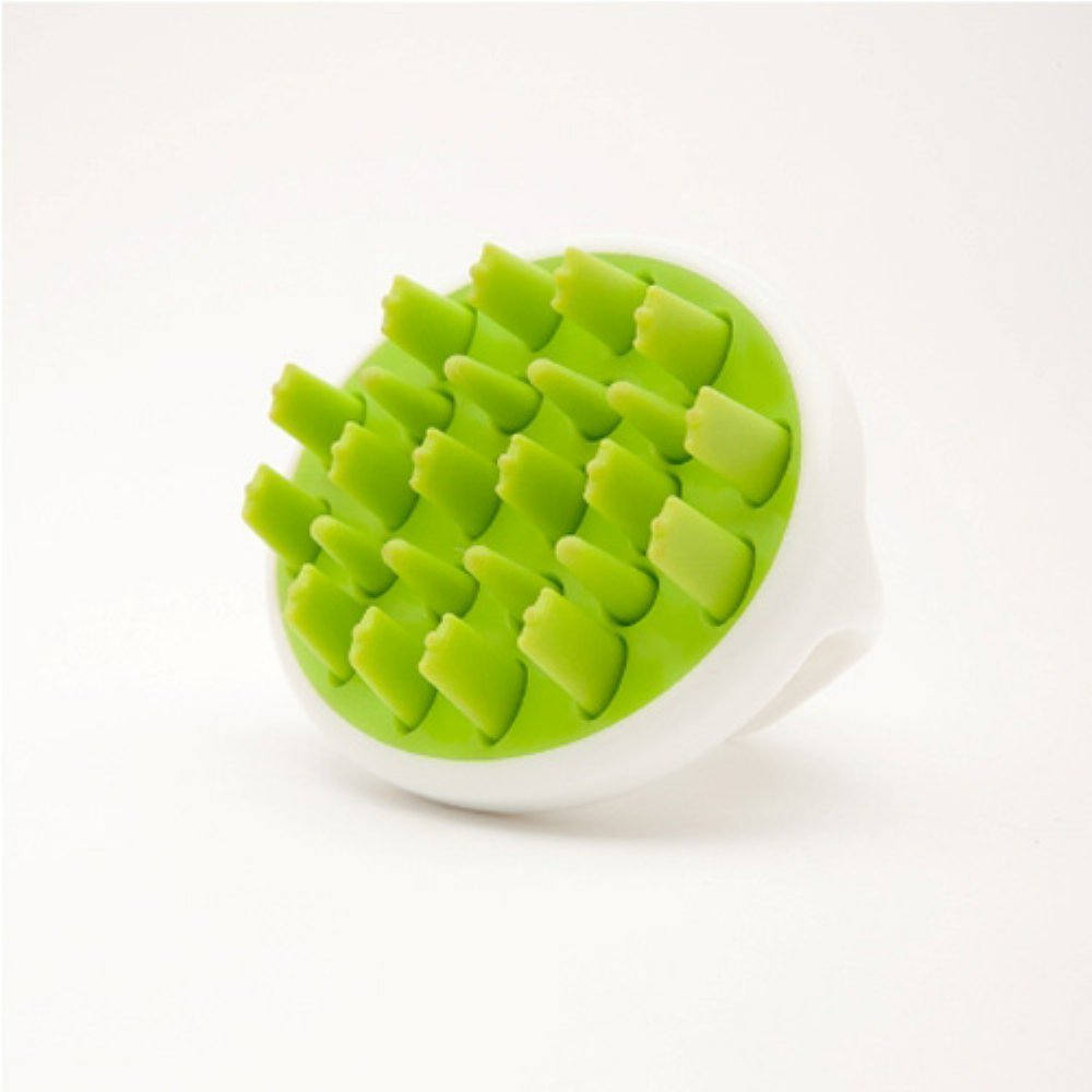 Zyllion ZMA12 Shampoo Scalp Massage Brush (Green)