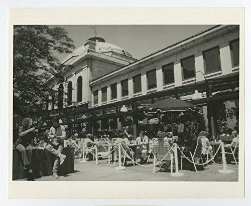 Massachusetts History - Quincy Market, Faneuil Hall - Vintage 8x10 - Boston - Faneuil Market