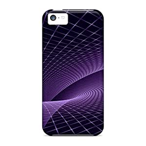 Hot Fashion WrlGCYI8264PhgXf Design Case Cover For Iphone 5c Protective Case (violet Space Mt)