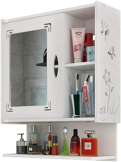 Bagno Specchio Specchio Per Il Bagno Specchio A Parete Per Bagno Specchio Armadio Bianco Mobili Ripostiglio Armadio Per Bagno Amazon It Casa E Cucina