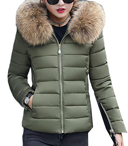 Quilted Hooded Coat - 9