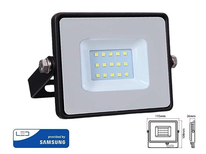 Faros Proyector LED IP65 luz de inundación al aire libre 10W ...