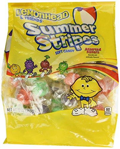 Lemonhead and Friends Summer Stripes, 13 oz Bag