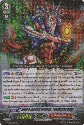 - Cardfight!! Vanguard TCG - Shura Stealth Dragon, Yozakuracongo (FC02/012EN) - Fighter's Collection 2014