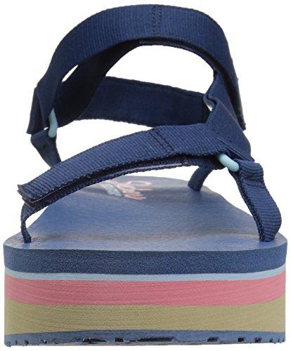 Ajustable Sandalia Festive Skechers41042 Marino para Mujer It Whip Double de Plataforma qwgT04