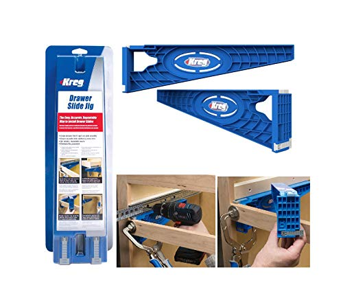 (Simple-use Reversible Drawer Slide Jig Supporter Tool Quick Delivery)