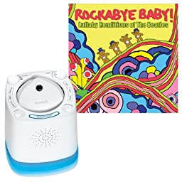 Munchkin Nursery Sound Projector with Rockabye Baby Lullaby Renditions, Beatles