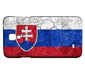 Funda Carcasa para Galaxy S4 Mini Bandera ESLOVAQUIA 03