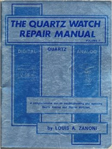 - The quartz watch repair manual