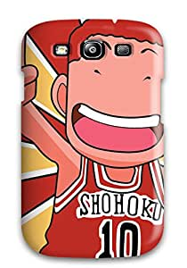 Tpu Gaudy Martinezs Shockproof Scratcheproof Slam Dunk Hard Case Cover For Galaxy S3
