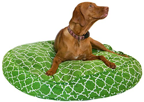 Cheap Molly Mutt 42″ Title Track Round Dog Bed Duvet Kit – 100% Cotton, Durable, Washable