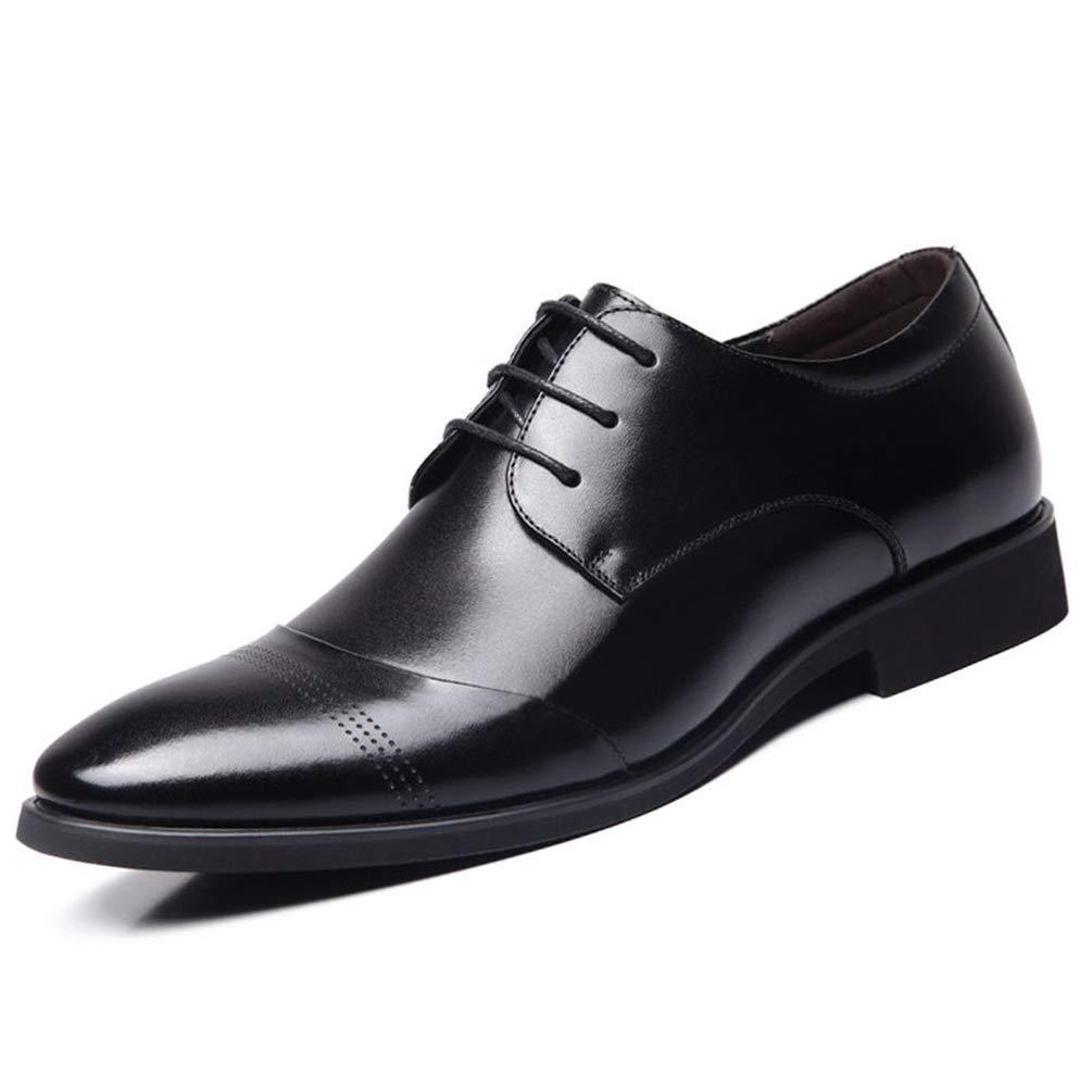 Qianliuk Business Dress Mä nner Formale Schuhe Hochzeit Spitzen Zehen Leder Wohnungen Oxford Schuhe fü r Mä nner