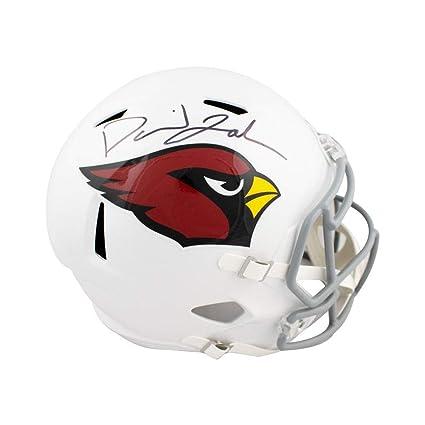 a9ff5570b3b David Johnson Autographed Arizona Cardinals Speed Full-Size Football Helmet  JSA