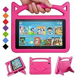 Fire 7 Tablet Case for Kids - SHREBORN Kids...