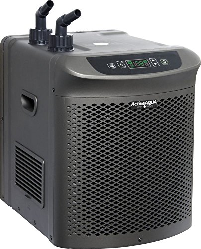 Active Aqua AACH25HP Hydroponic Water Chiller Cooling System, 1/4 HP, Rated BTU per hour: 3,010, (0.25 Hp Water Chiller)