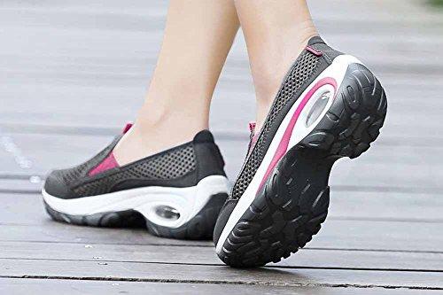 Primavera Sneaker Outdoor traspirante traspirante Scarpe da da donna mesh in antiscivolo Novità Gray trekking Estate 2018 xIqzwYBw