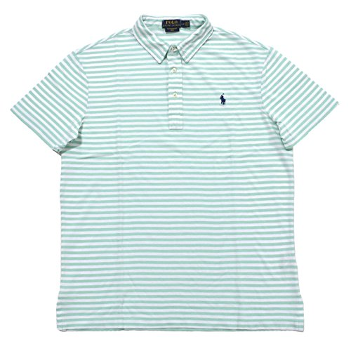 Polo Ralph Lauren Men's Featherweight Mesh Polo Shirt (XXL, Aqua - Polo Ralph Lauren Green