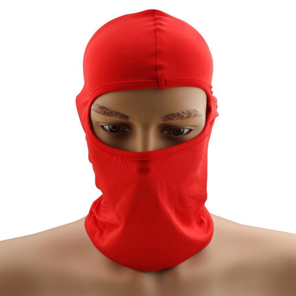 FidgetGear 50Pcs/lots Motorcycle Motorbike Scooter Balaclava Under Helmet anti-UV Full Face Mask by  (Image #2)
