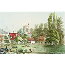 Wakefield, Yorkshire - Trinity Church & New Wells. [Published for Thomas Kilby's Scenery in the Vicinity of Wakefield]