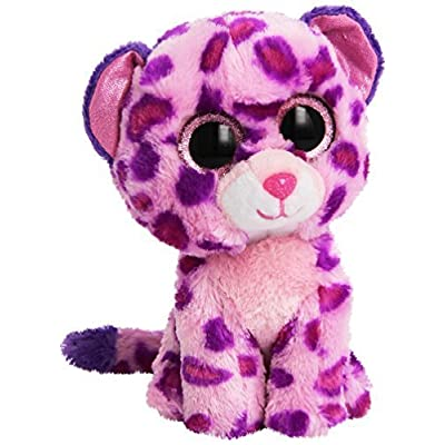 TY Beanie Boo Plush - Pink Leopard Glamour by Ty: Toys & Games