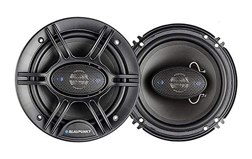 Blaupunk GTS655M 6.5 Inch 250W Slim Line, 4 Way Coaxial Car Audio Speaker, Set of 2 ()