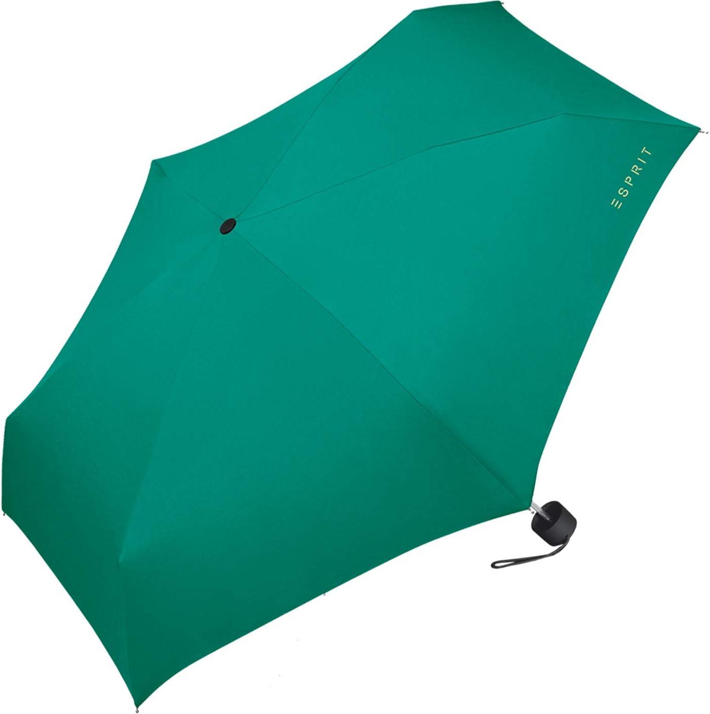 Parapluie pliants Femme Bleu Bleu Marine 91 cm ESPRIT