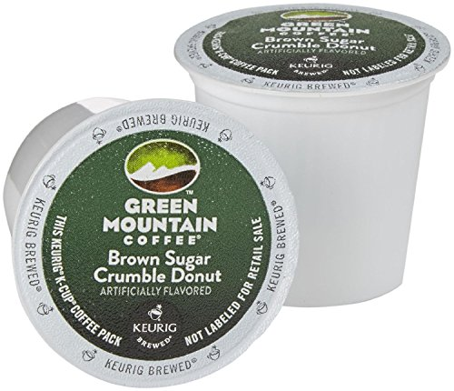 Green Mountain Coffee 3 Keurig K-Cups - Brown Sugar Crumble Donut (Have had it of 2)