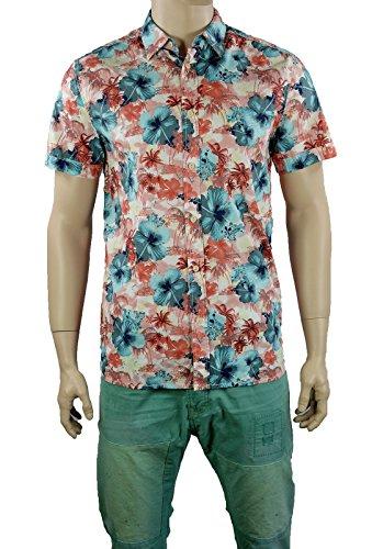 Mustang Herren Hemd Regular Fit Shirt Kent Collar 4496-4524-723