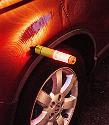 Window Breaker - Seat Belt Cutter - Flashing Emergency Beacon Light - LED Flashlight with Powerful Magnetic Base - Luckystone's 5 in 1 Auto Safety Emergency Escape Tool is the Industry Leader in Car Safety - Lifetime Guarantee from Luckystone
