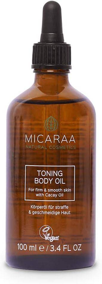 Valioso Aceite Corporal de ACARAA, 1x100ml, Antienvejecimiento, Rico en Vitaminas, Cosméticos Naturales