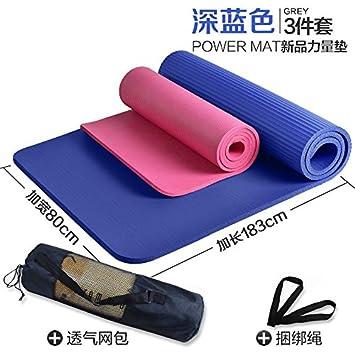 YOOMAT colchonetas para Yoga para Principiantes Masculinos y ...