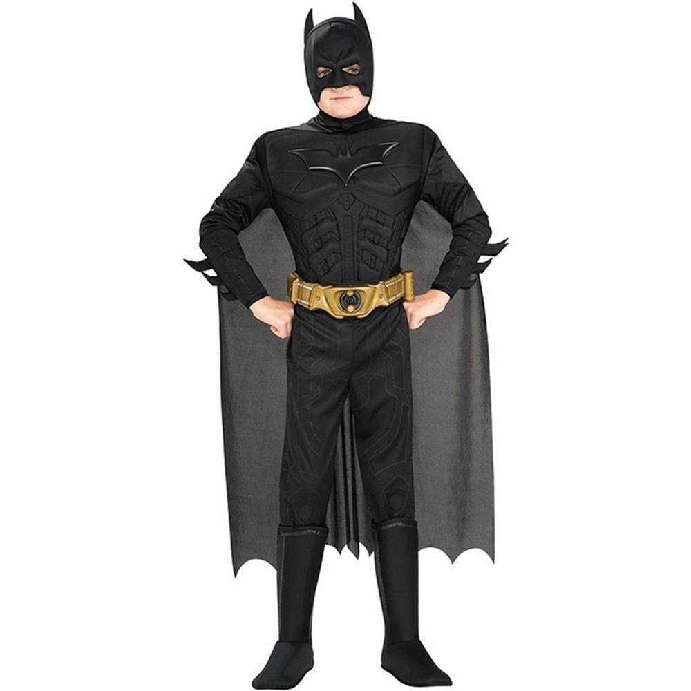 Batman The Dark Knight Costume Muscle Boy