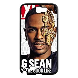 Custom Chris Brown Hard Back Cover Case for Samsung Galaxy Note 2 NT565