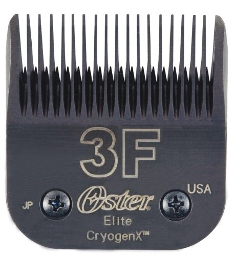 Oster Elite CryogenX Professional Animal Clipper Blade, Size 3F (078919-666-002) by Oster
