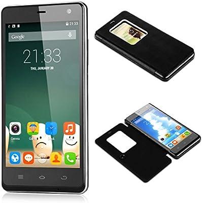 Nuevo THL 5000 Android 4.4.2 del sistema operativo con 2,0 GHz de procesador Octa-core MT6592T y 2 GB de RAM + 16GB ROM negro + funda protectora: Amazon.es: Electrónica