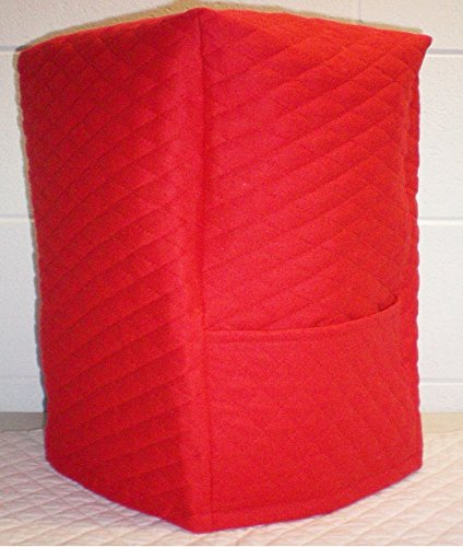 Quilted Bread Machine Cover (Red)