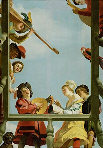 Cats Costumes Musical Tutorial ('Musical Group On A Balcony,1622 By Gerrit Van Honthorst' Oil Painting, 18x26 Inch / 46x66 Cm ,printed On High Quality Polyster Canvas ,this High Definition Art Decorative Canvas Prints Is Perfectly Suitalbe For Foyer Decor And Home Artwork And Gifts)