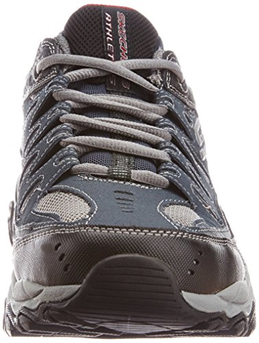 Skechers mens M.fit fashion sneakers, Navy, 8.5 US