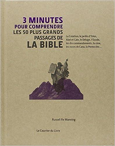 3 minutes pour comprendre les 50 plus grands passages essentiels de la Bible