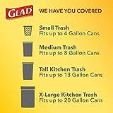 Glad OdorShield Small Drawstring Trash