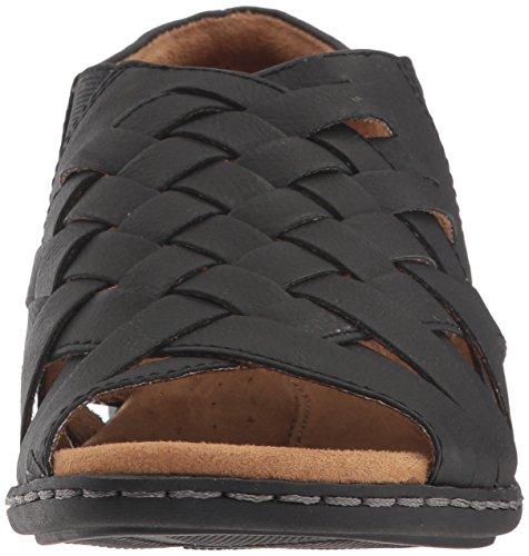 Natuurlijke Ziel Vrouwen Baye Flat Sandaal Zwart