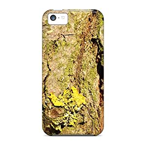 New Fashionable JosieGrilli Der28481ZNdk Covers Cases Specially Made For Iphone 5c(wooden Landscape In Green And Yellow)