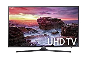 Samsung Electronics UN40MU6290 40-Inch 4K Ultra HD Smart LED TV (2017 Model) (Certified Refurbished)