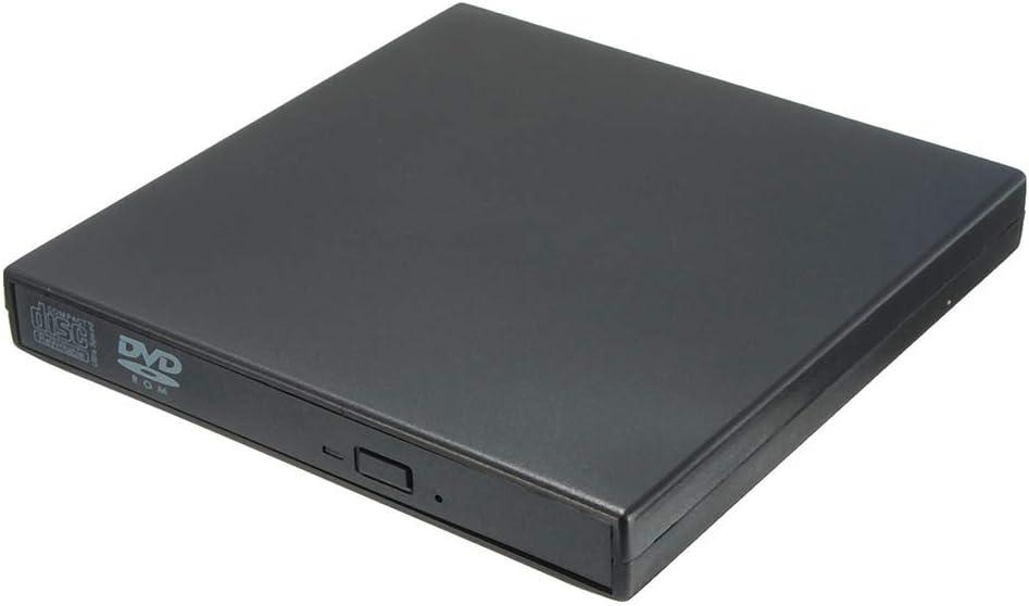 External DVD CD Drive USB 2.0 Portable DVD/CD Player CD-RW DVD ROM Combo Reader for PC Desktop Computer Laptop