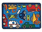 Carpets for Kids 36.62 Wheels on the Go Rug 3 ft. x 4.5 ft. by Carpets for Kids