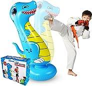 SUNSHINEMALL Inflatable Punching Tower Bag Boxing Column Tumbler Sandbags Fitness/Training/Fun Activity, Boxin